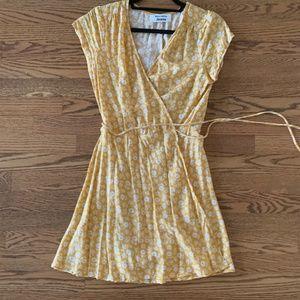 LIKE NEW  Reformation Wrap Dress